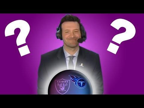 QB turned Psychic? Tony Romo Predicts Future