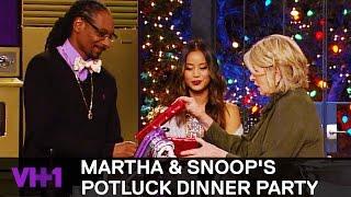 Jamie Chung Brings Snoop Dogg A Gift 'Sneak Peek' | Martha & Snoop's Potluck Dinner Party