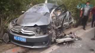 car crash videos   crazy and scary accidents october 2015 5