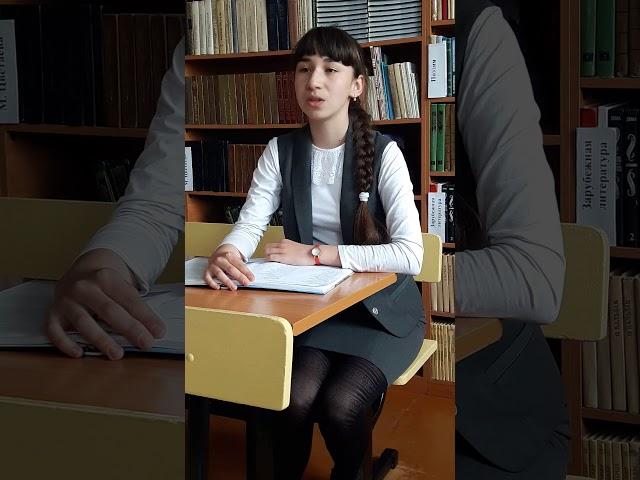 Изображение предпросмотра прочтения – ЕлизаветаКурикалова читает произведение «Сын артиллериста» К.М.Симонова