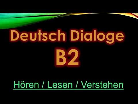 1- Deutsch Dialogue - B2
