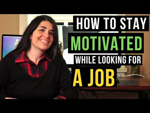 How to stay POSITIVE while looking for a job (Job search depression)