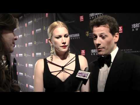 Ioan Gruffudd & Alice Evans talk Compassion with Fashion