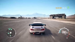 Playing need for speed with roy