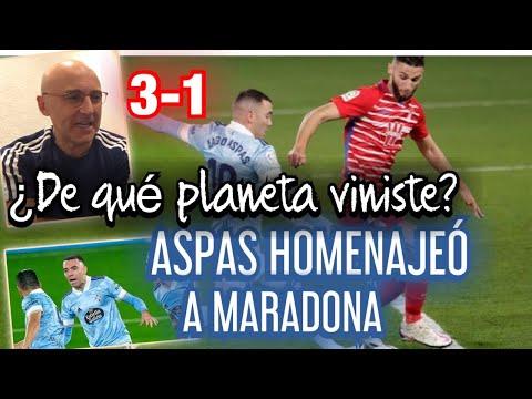 Maldini alaba el partido de Aspas contra el Granada
