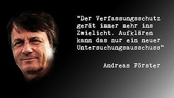 NSU | Verfassungsschutz verhindert Spiegelstory? VS redigiert Nazipostille? Andreas Förster