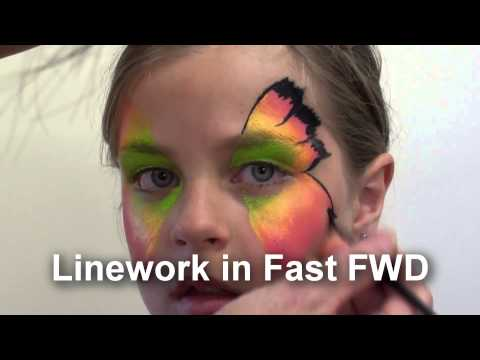 Easy Face Painting Design, Step By Step Face Painting Guide