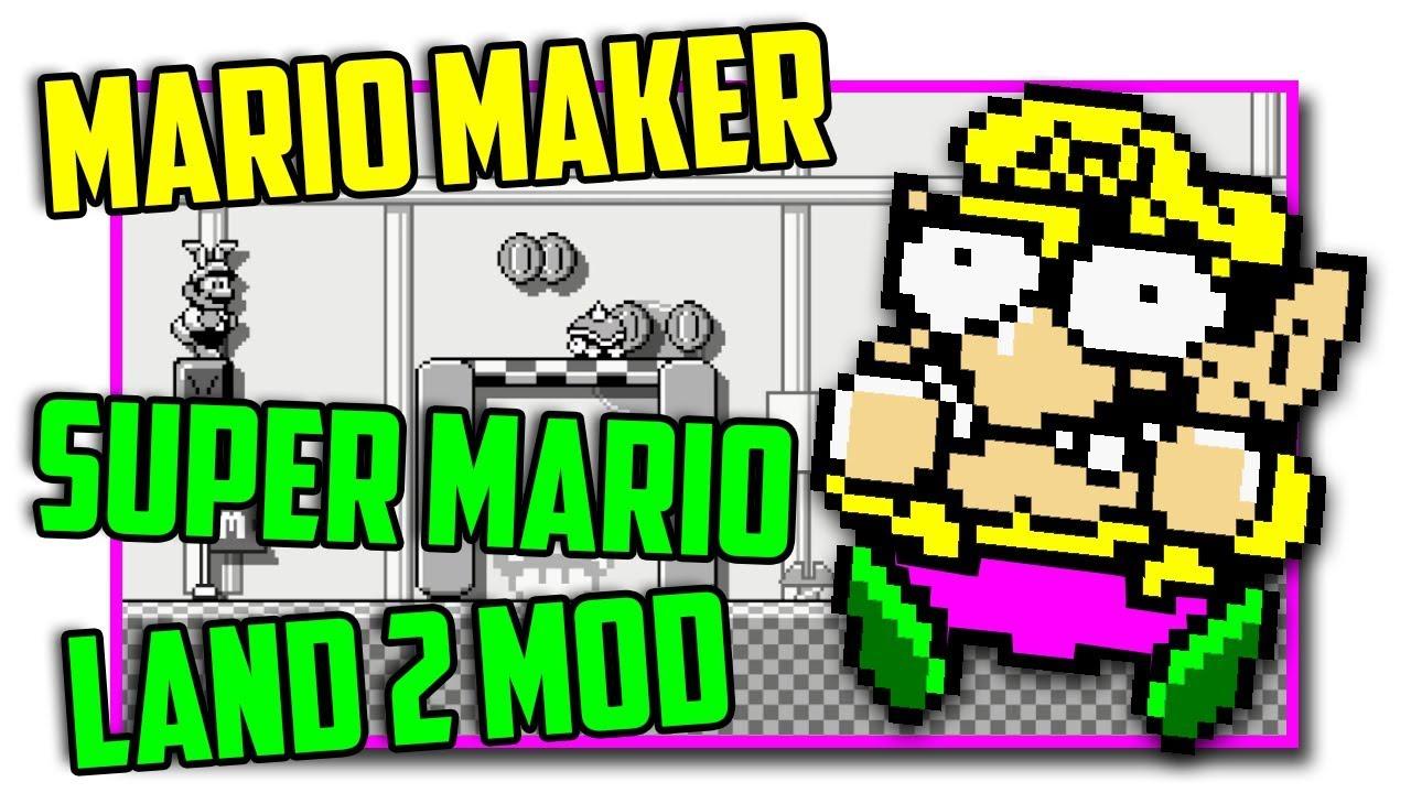 Super Mario Land 2 - Super Mario Maker Mod