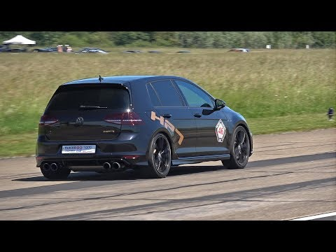 Volkswagen Golf 7 R HPT Stage 3+ with Akrapovic Exhaust System!