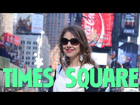 Um giro pela Times Square - Nova York