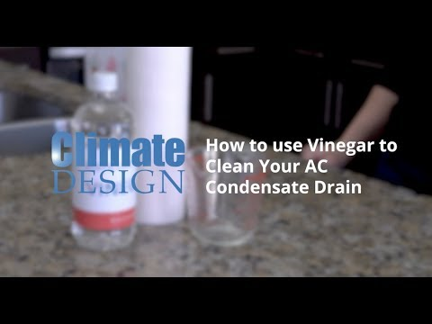 How to Clean Your AC's Condensate Drain With Vinegar