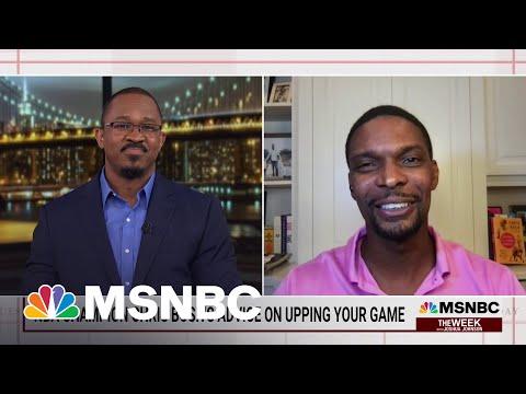 NBA Champion Chris Bosh's Advice On Upping Your Game