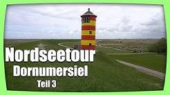 Nordseetour Dornumersiel - Ostfriesland - Norddeich - Pilsumer Leuchtturm - Greetsiel