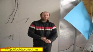 видео Шумоизоляция стен своими руками
