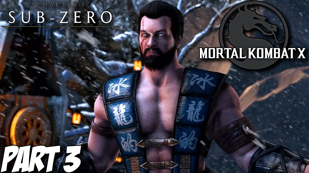 Mortal Kombat X Story Mode Part 3 Chapter 3 Sub Zero Ps4 Xbox