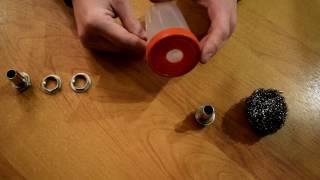 видео Фильтр картерных газов своими руками (маслоуловитель)