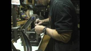 Belt Sander Knife Sharpening
