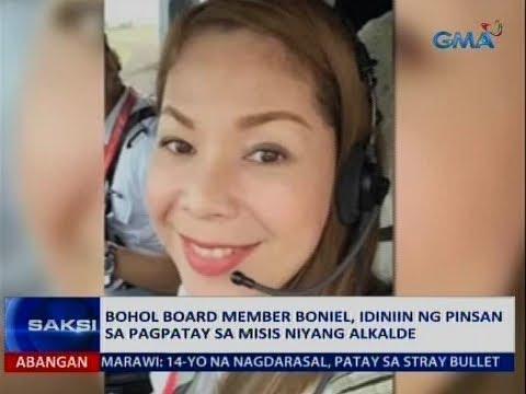 Saksi: Bohol board member Boniel, idiniin ng pinsan sa pagpatay sa misis niyang alkalde
