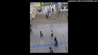 서울역 철도경찰의 포스
