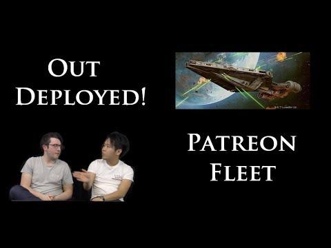 Star Wars Armada Battle Report Ep.29 | WAVE 7, POST FAQ | PATREON LIST