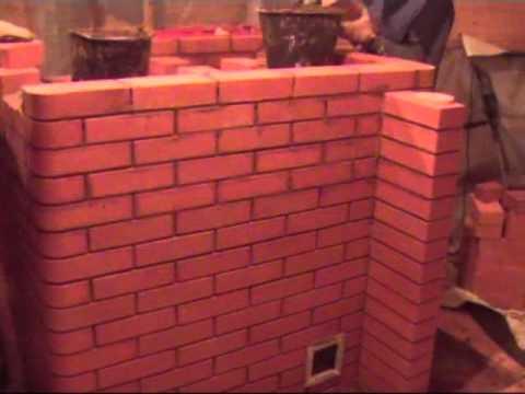 Отопительная печь мощностью 6 кВт с духовой камерой