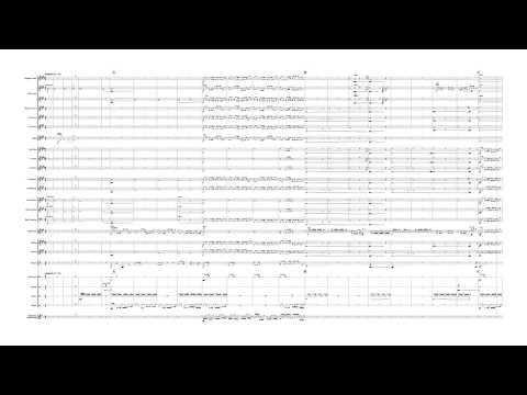 Civilizaztion 4 theme - Baba Yetu - Christopher Tin - Brass Band - Full Score