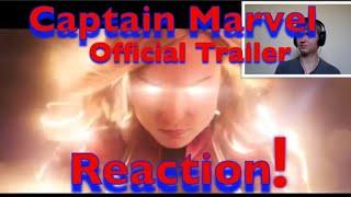 Marvel's Studios Captain Marvel - Official Trailer Reaction