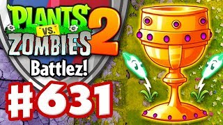 BATTLEZ! Gold League! Lightning Reed! - Plants vs. Zombies 2 - Gameplay Walkthrough Part 631