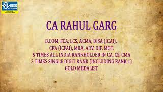 Schedule for 1 Day Revision of CA INTER COSTING by All India Ranker CA RAHUL GARG