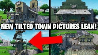 NEW Fortnite Update! LEAKED TILTED TOWN PICTURES! NEW DUSTY DEPOT EVENT? - Fortnite Season 10
