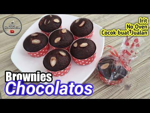brownies-in-cup-!-resep-brownies-chocolatos-kukus-tanpa-oven-dan-mixer- -kue-terbaru-2019