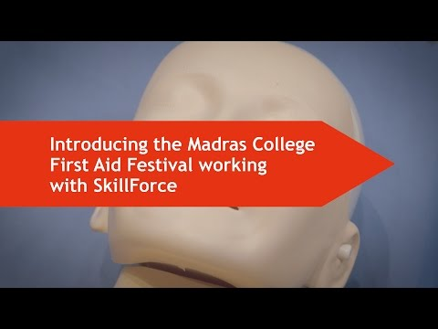 SkillForce - Madras College First Aid Festival