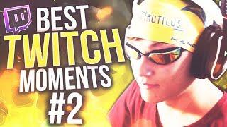 BEST TWITCH MOMENTS [#2] - Tripaloski dance & Cheaters