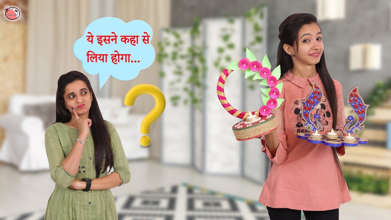 12+ Diwali Life Hacks You Must Try #festival #girlsdiy #hetalsart #diwali2021