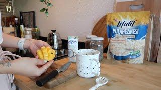 Dailylog#32  |  Kahvaltılık tarifler, vanilya özütü yapımı, yulaf lapası