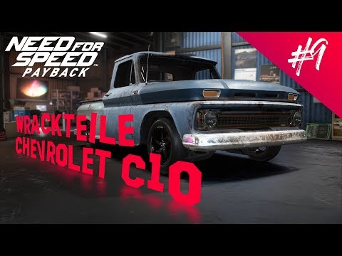 Need For Speed Payback - Wrack Und Wrackteile - Chevrolet C10 Pick Up
