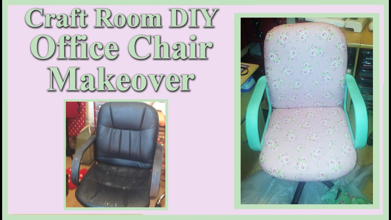 office chair makeover. Craft Room DIY - Office Chair Makeover 2