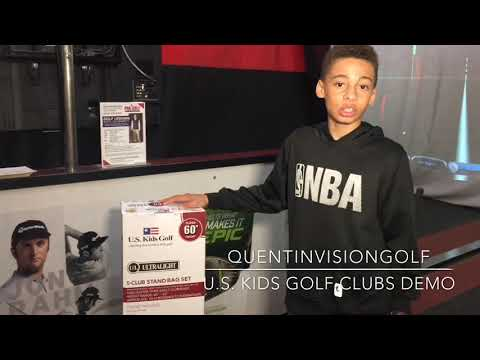 New US Kids Golf Clubs QUENTINVISIONGOLF