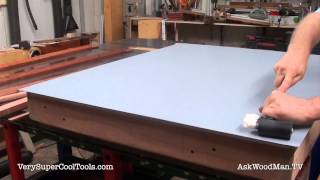 807. Applying Laminate • Table Saw Work Station Series