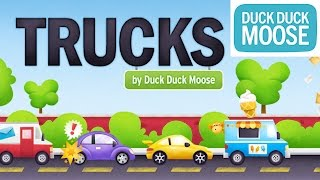 DUCK DUCK MOOSE Trucks | Play With Ambulance, Fire Truck, Car, Truck, Bulldozer And More For Kids