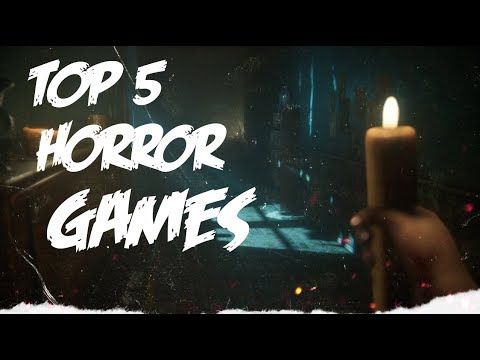 TOP 5 HORROR GAMES! That will give you a heart attack! | Dedicated Syn