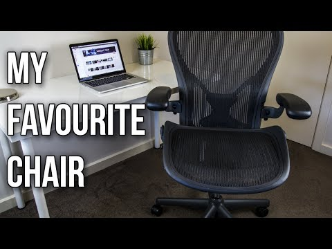 Herman Miller Aeron Chair Review - Most Comfortable Computer Chair?