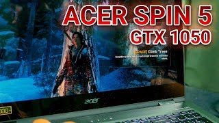 NEW BREED OF THIN GAMING LAPTOP? - Acer Spin 5 With GTX 1050 Review