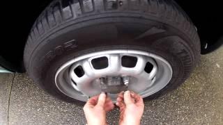 Speed Tire Change - Nascar Pit Crew Wannabe