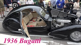 1936 Bugatti type 57SC Atlantic - Holy Grail of Sports Car - Do Not Miss this Video - 4k
