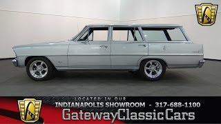 1967 Chevrolet Nova Wagon #615-ndy Gateway Classic Cars - Indianapolis