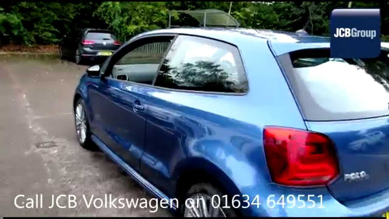 2014 Volkswagen Polo Hatch Bluegt 1 4l Blue Silk Metallic