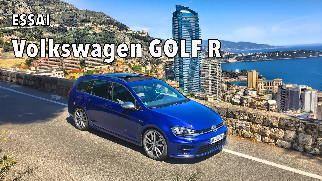 test drive volkswagen golf r sw tsi 300 youtube. Black Bedroom Furniture Sets. Home Design Ideas