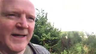 Travels on Gringolet - a visit to Periwinkle Hill Norman Motte and Bailey