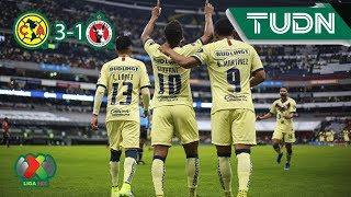 América se impone ante Xolos | América 3 - 1 Tijuana | Liga MX - J3 | TUDN México